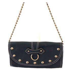Hype leather shoulder bag